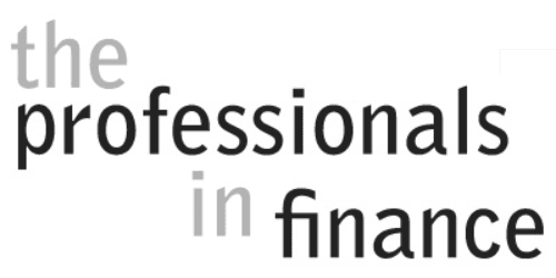 The Professionals in Finance Logo
